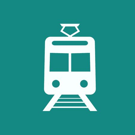 hovercraft: Train outline vector