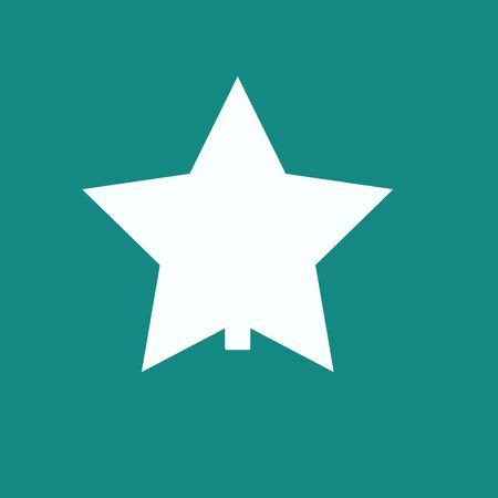 marxism: star icon Illustration