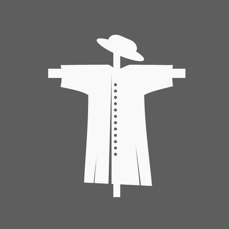 espantapajaros: Icono del espantap�jaros Vectores