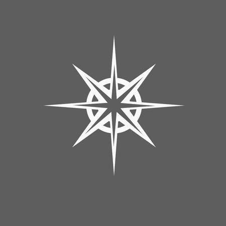 Compass-pictogram