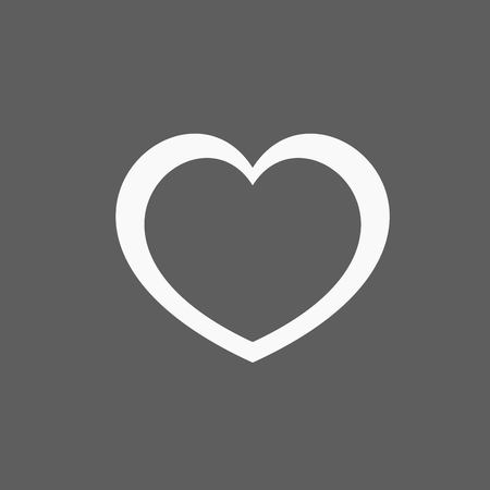 rounded: Heart Icon