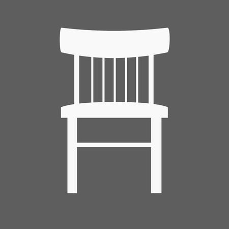 recline: Modern vector office chair graphic