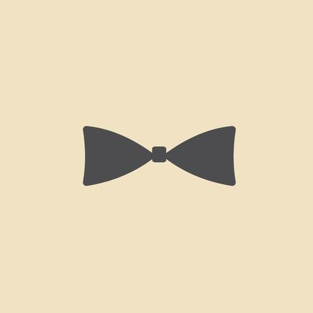 official wear: Bow tie, icon vector