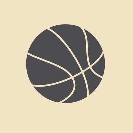 basketball icon Иллюстрация
