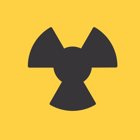 cray: The radiation icon. Radiation symbol.