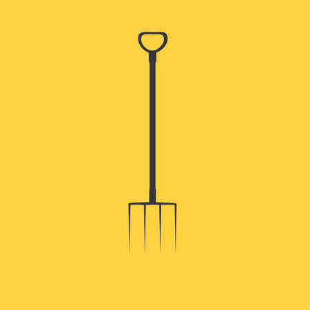 pitchfork: Pitchfork icon. Pitchfork icon vector. Pitchfork icon simple. Pitchfork icon app Illustration