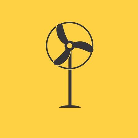 10eps: windmill icon Illustration