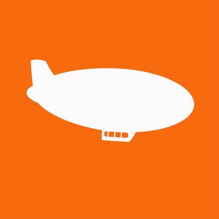 luftschiff: Airship Icon Illustration