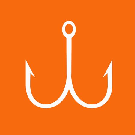 fishhook: Hook icon Illustration