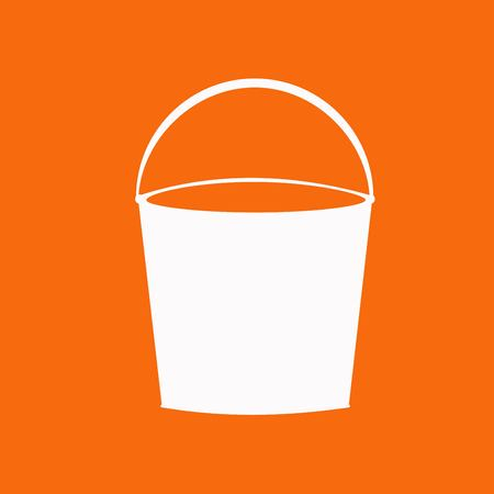 bucket: bucket icon