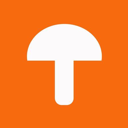 button mushroom: Creative Mushroom Vegetable Icon