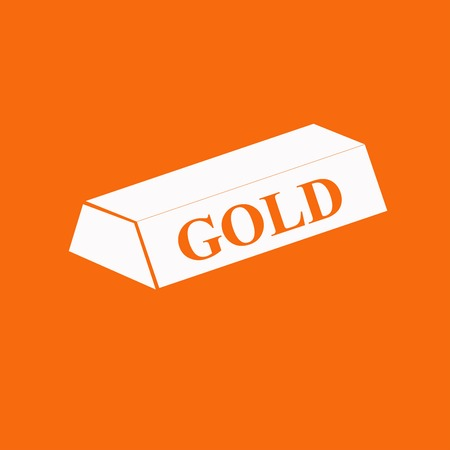 jewell: A simple icon of gold bullion