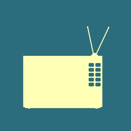 hdtv: tv icon
