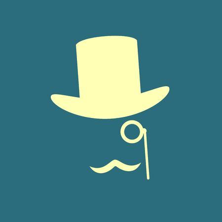 ocular: gentleman icon