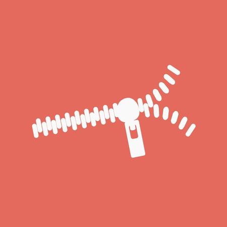 zipper: Zipper icon Illustration