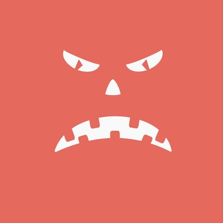 smilling: Zombie, dead, horror icon vector image.Can also be used for halloween, celebration, observances and holidays