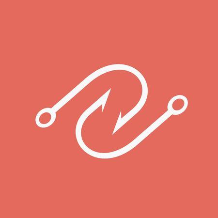 allure: Hook icon Illustration