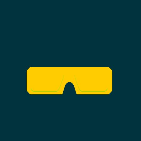 aviators: Sunglasses icon Illustration