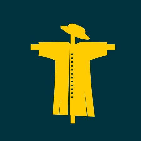 espantapájaros: Icono Espantapájaros Vectores