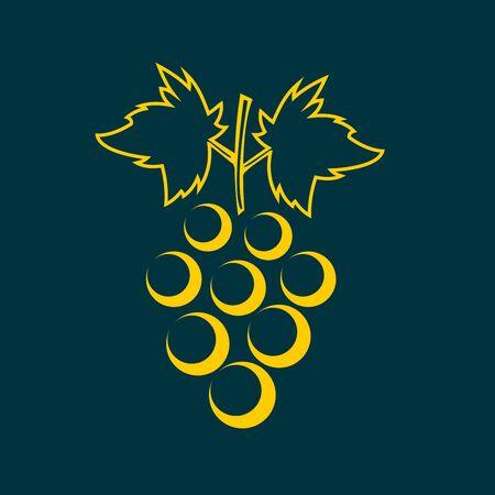 playbill: grapes icon