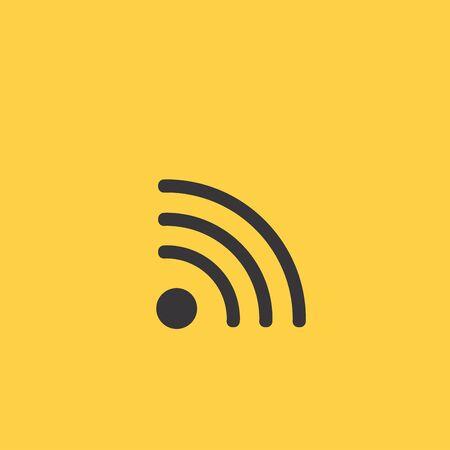 hot wife: Wi-Fi Icon Illustration