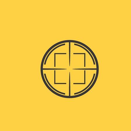 aim: Aim icon Illustration