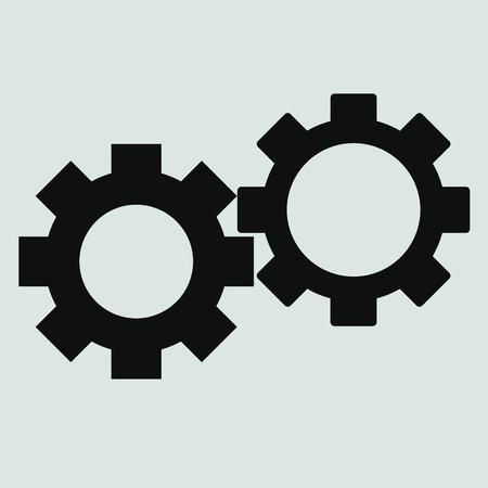 hardware configuration: Service icon Illustration