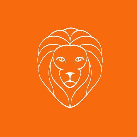 symbol sport: Lion Head Icon