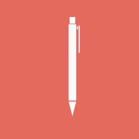 interface menu tool: pen - Vector icon