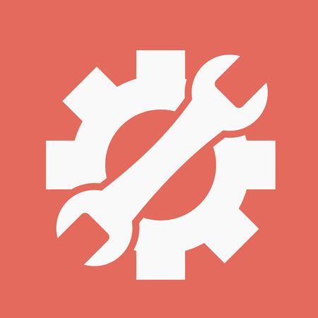 Service icon Stock Illustratie