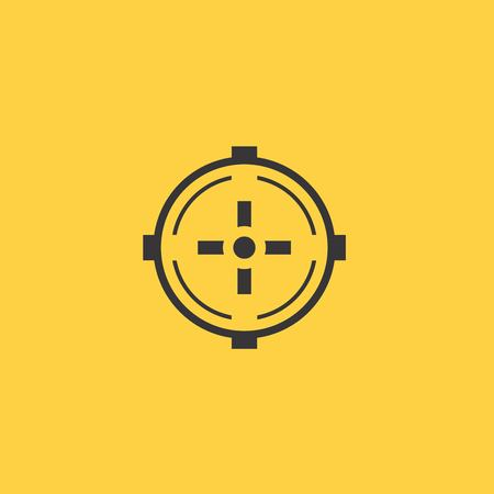 aim: Aim icon Illustration