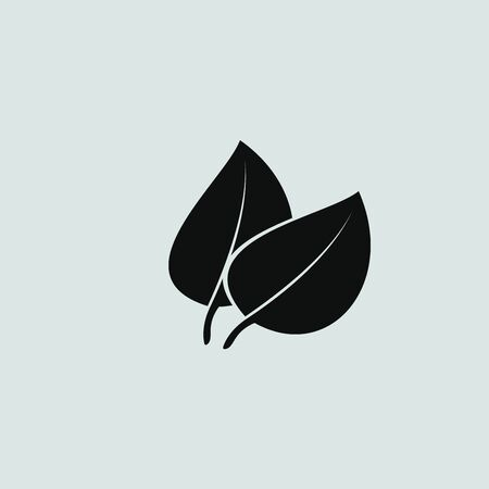 reversed: leaf vector icon