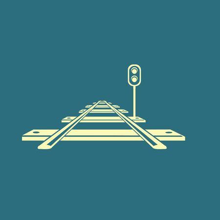 commute: Railroad icon