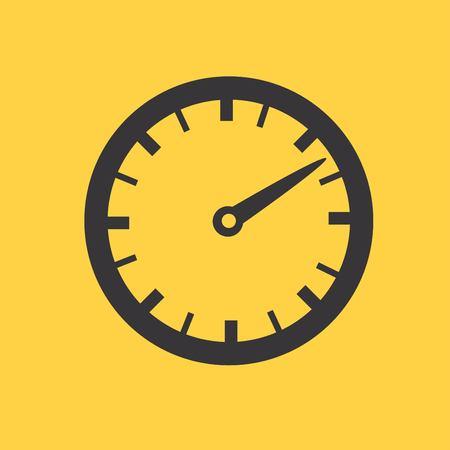 dsl: Speedometer icon Illustration