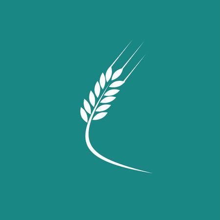 icono de trigo Ilustración de vector