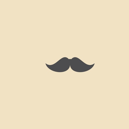 chaplin: Mustache Icon Illustration