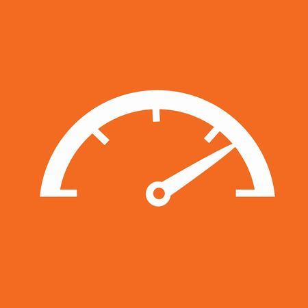 Speedometer icon Illusztráció