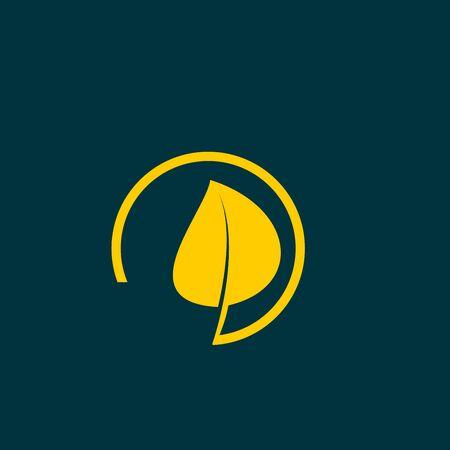 reversed: leaf vector icon