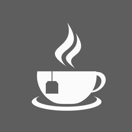 long beans: Coffee cup icon Illustration