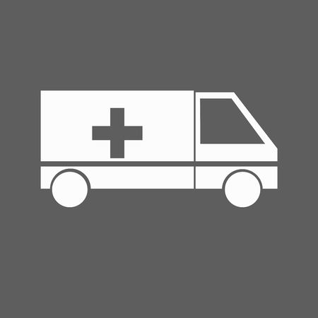 a tablet blister: medicine Icon Illustration