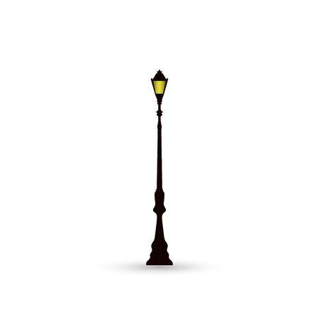 Street light icon Illustration