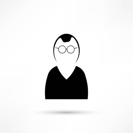 manager: Manager vector icon. Illustration
