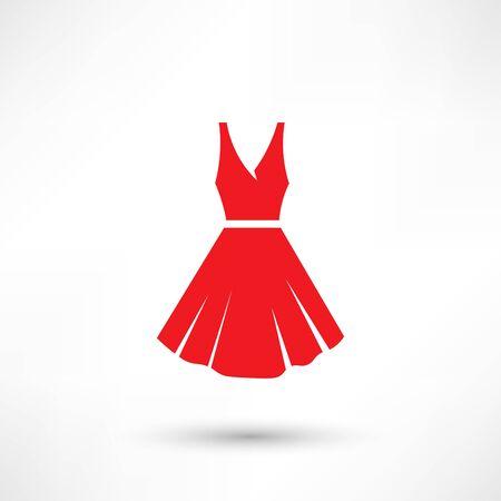 Dress vector icon