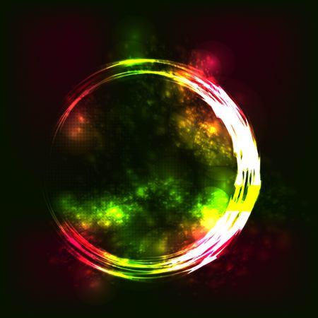 milkyway: Space vector background