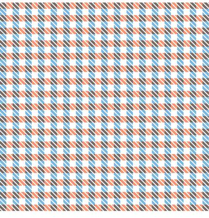 pattern gingham tablecloth pattern Illustration