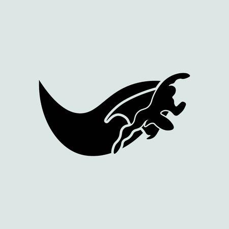 angel alone: Superhero icon