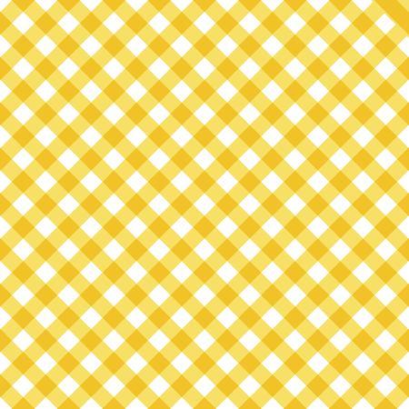 Plaid keuken vector naadloze patroon
