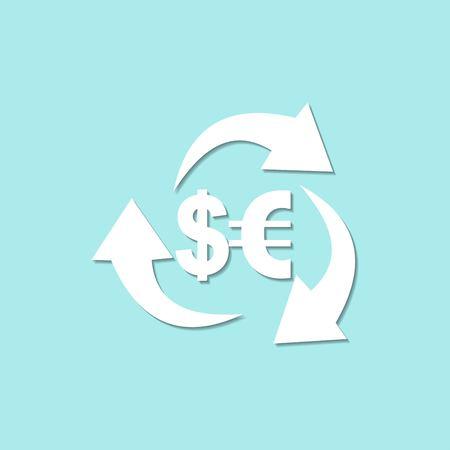 salarios: Vector del icono del dinero