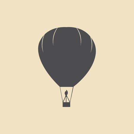 balloon vector icon Illustration