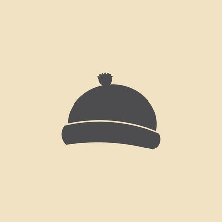 Winter clothes icon
